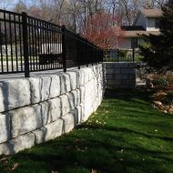 big block retaining wall kc